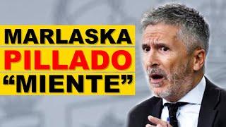 """Marlaska PILLADO: """"Traslada inmigrantes a Granada"""""""