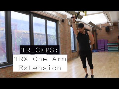 TRX One Arm Extension