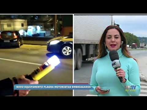 Mais de 50 motoristas por embriagues ao volante-PRF