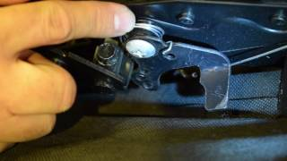 How-To Replace A Reclining Mechanism Release Trigger
