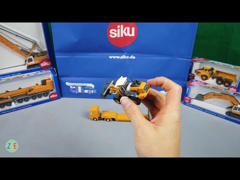 Siku - Low Loader with Four Wheel Loader - 1839 - REVIEW