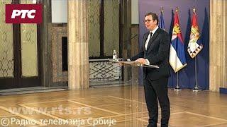 Vučić o upadu u RTS: Nasilju je došao kraj