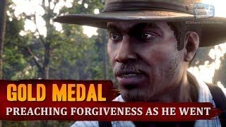 Red Dead Redemption 2 - Mission #35 - Preaching Forgiveness as He Went [Gold Medal]