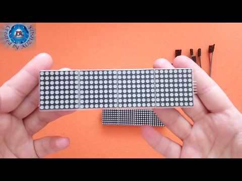 MAX7219 Dot Matrix Module 4-in-1 Display For Arduino from Banggood.com