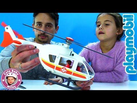 Playmobil Rettungshubschrauber 6686 City Life | CuteBabyMiley