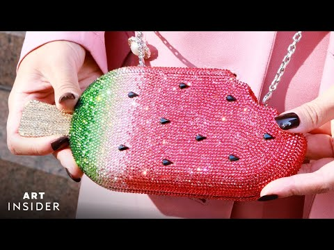 Making Bedazzled Luxury Handbags