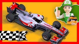 Мультик про машинки – Гонки на машинах – Винтик участвует в гонках
