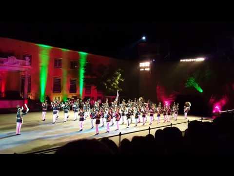 Pakistan Army Military Band | Parade South Africa - Pakistan National Song Pakistan National Anthem