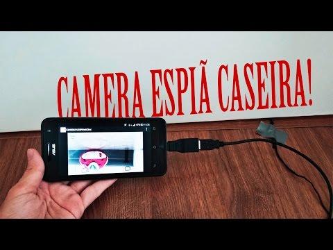 Como transformar a WebCam de um notebook em uma camera espiã