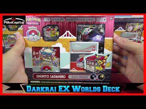 Pokemon Cards 2016 World Championships Darkrai EX Deck Opening Black Dragon - Junior Champion