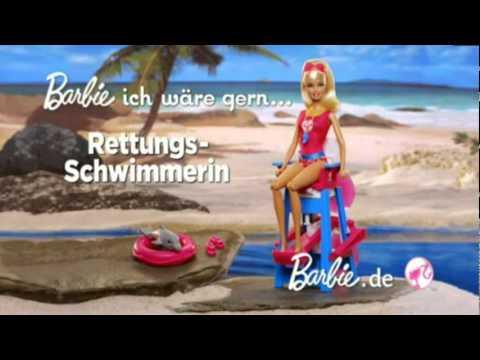 Barbie Ich wäre gern Rettungsschwimmerin
