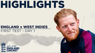 Watch highlights from Day 1 in Southampton as England took on West Indies in the first Test of the 2020 series.  This is the official channel of the ECB. Watch all the latest videos from the England Cricket Team and England and Wales Cricket Board. Including highlights, interviews, features getting you closer to the England team and county players.  Subscribe for more: http://www.youtube.com/subscription_center?add_user=ecbcricket  Featuring video from the England cricket team, Vitality Blast, Specsavers County Championship, Royal London One-Day Cup and more.