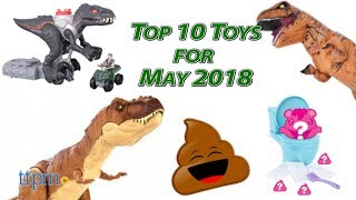 Top 10 Toys in May 2018
