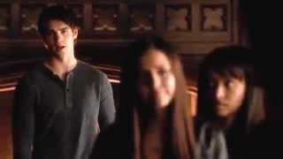 Vampire Diaries season 4 episode 12 - Damon tells Elena about Stefan, and Jeremy's tattoo grows