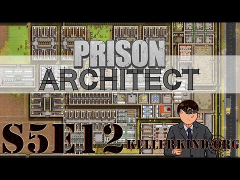 Prison Architect [HD|60FPS] S05E12 – Hells Kitchen ★ Let's Play Prison Architect