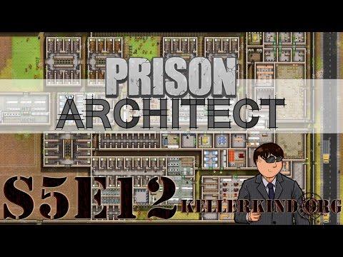 Prison Architect [HD|60FPS] S05E12 – Hells Kitchen ★ Let's Play Prison Architect