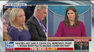 Sanders says White House has been advised Trump can fire Mueller