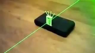 La producción del puntero láser