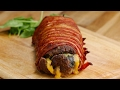 Download Youtube: Bacon-Wrapped Burger Roll