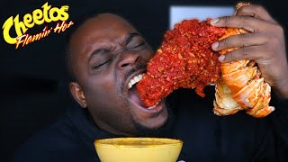 BEAST MODE DESTROYS HOT CHEETOS GIANT LOBSTER | AMAZING REACTION