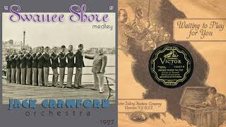 1927, Swanee Shore, Hurricane, Baltimore, Kiss And Make Up, Beautiful, Jack Crawford Orch. HD 78rpm