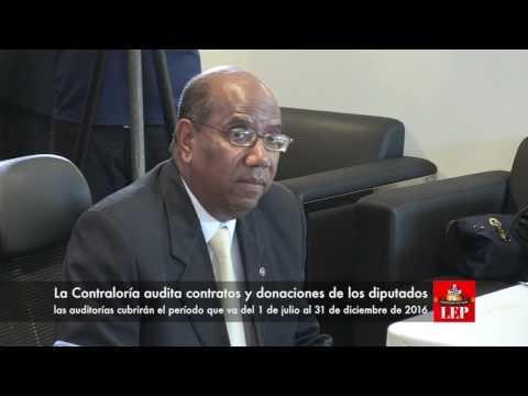 La Contraloría audita contratos y donaciones de los diputados
