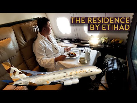 Most Luxurious Flight - The Residence by Etihad A380 Abu Dhabi to Paris