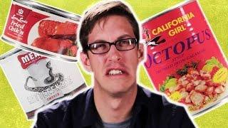 The Weirdest Canned Food Taste Test - dooclip.me