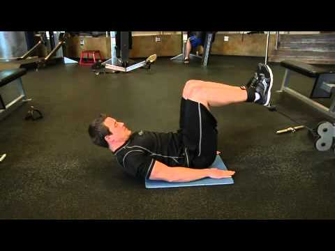 Cable Reverse Crunch Exercise