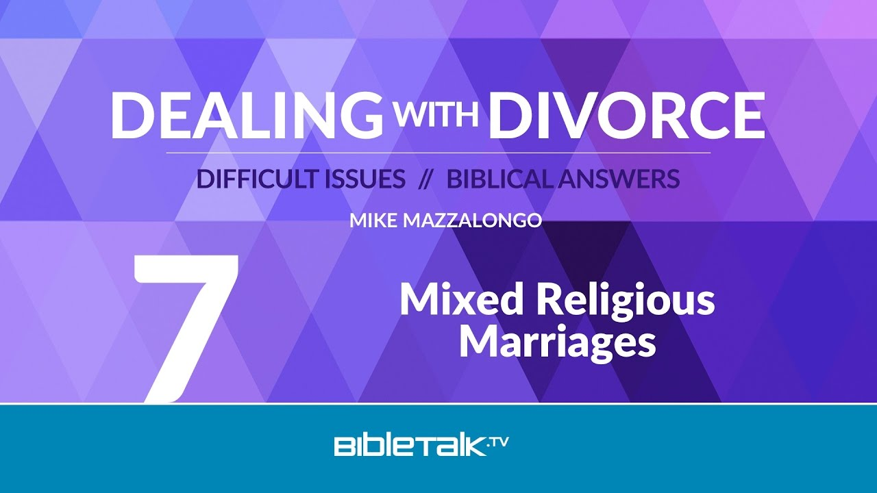 7. Mixed Religious Marriages