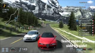 Gran Turismo 6 Online 4WD championship 5th race (FINAL RACE)