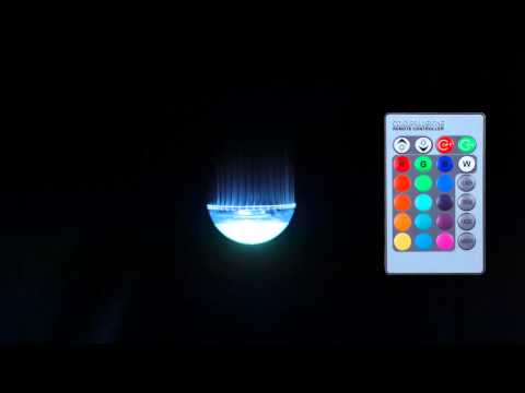 Smartfox LED Farbwechsel Lampe mit Fernbedienung