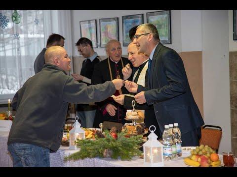Wigilia dla starszych, samotnych i ubogich mieszkańców Gminy Muszyna.