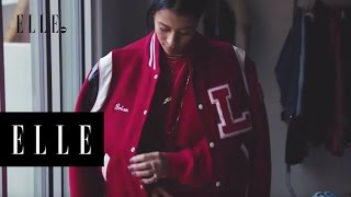 The Perfect Vintage Bomber Jacket with Sami Miro | ELLE
