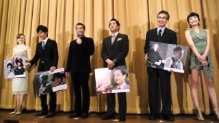 映画「TAKAMINE」公開記念舞台挨拶有楽町スバル座