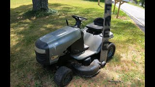 Fixing a free lawn tractor