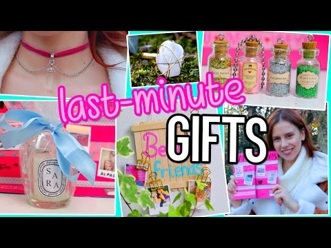 Last Minute DIY Gifts Ideas You NEED To Try! For BFF, Boyfriend, Parents… Birthdays/ Christmas