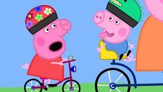 小猪佩奇 | 精选合集 | 1小时 🚲小猪佩奇骑自行车 🚲 粉红猪小妹|Peppa Pig Chinese |动画