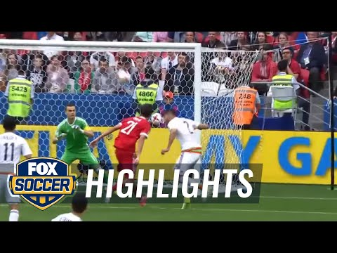 Néstor Araújo levels it for Mexico against Russia | 2017 FIFA Confederations Cup Highlights
