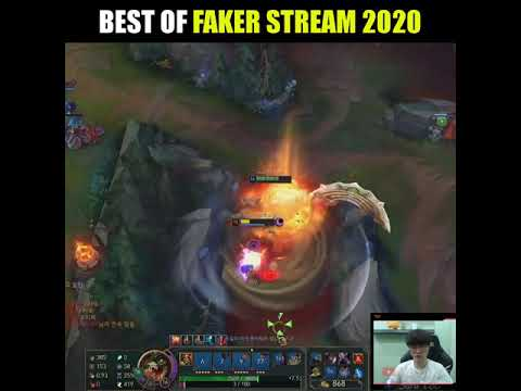 FAKER MONTAGE - BEST OF FAKER STREAM 2020 - League of Legends