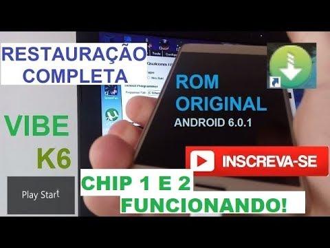 Recuperar e Atualizar Vibe K6 Power e karate Android 6 0 1
