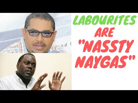 PNP Politician Call Jamaicans Nassty Naygas - Peter Phillips Son Mikael Turn Badbwoy?