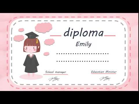 Free Custom Certificates for Kids - YouTube