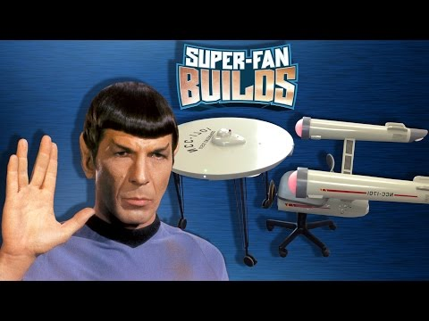 Spock's Home Office Would Include This USS Enterprise Desk And Chair