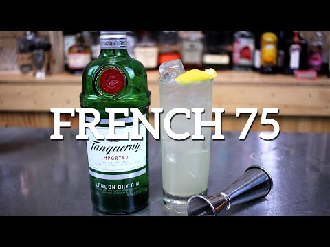 Video French 75 Cocktail Recipe