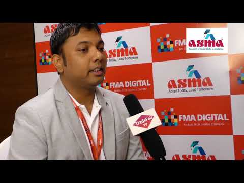 Mr. Swapnil Jain, Co-Founder FMA Digital at ASMA Annual Convention 2017