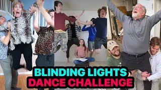 Blinding Lights Dance Challenge tik tok compilation
