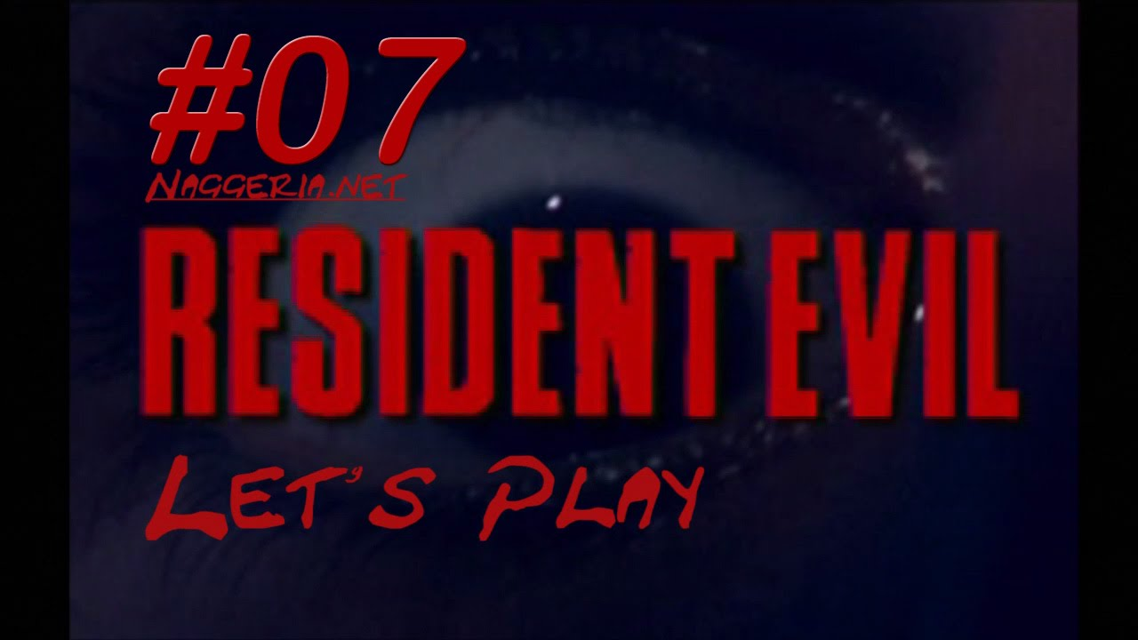 [Let's Play] Resident Evil – 07 – Pflanze 42 und Hunter des Terrors (PS1 / Chris)