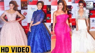BEST Dressed Actresses At Zee Cine Awards 2018 Red Carpet | Priyanka Chopra | Alia Bhatt | LehrenTV