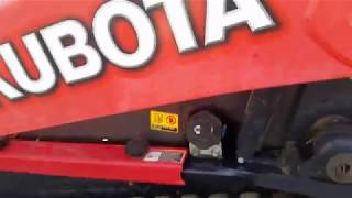 I try to describe how to operate a Kubota skid loader.....watch and learn.....